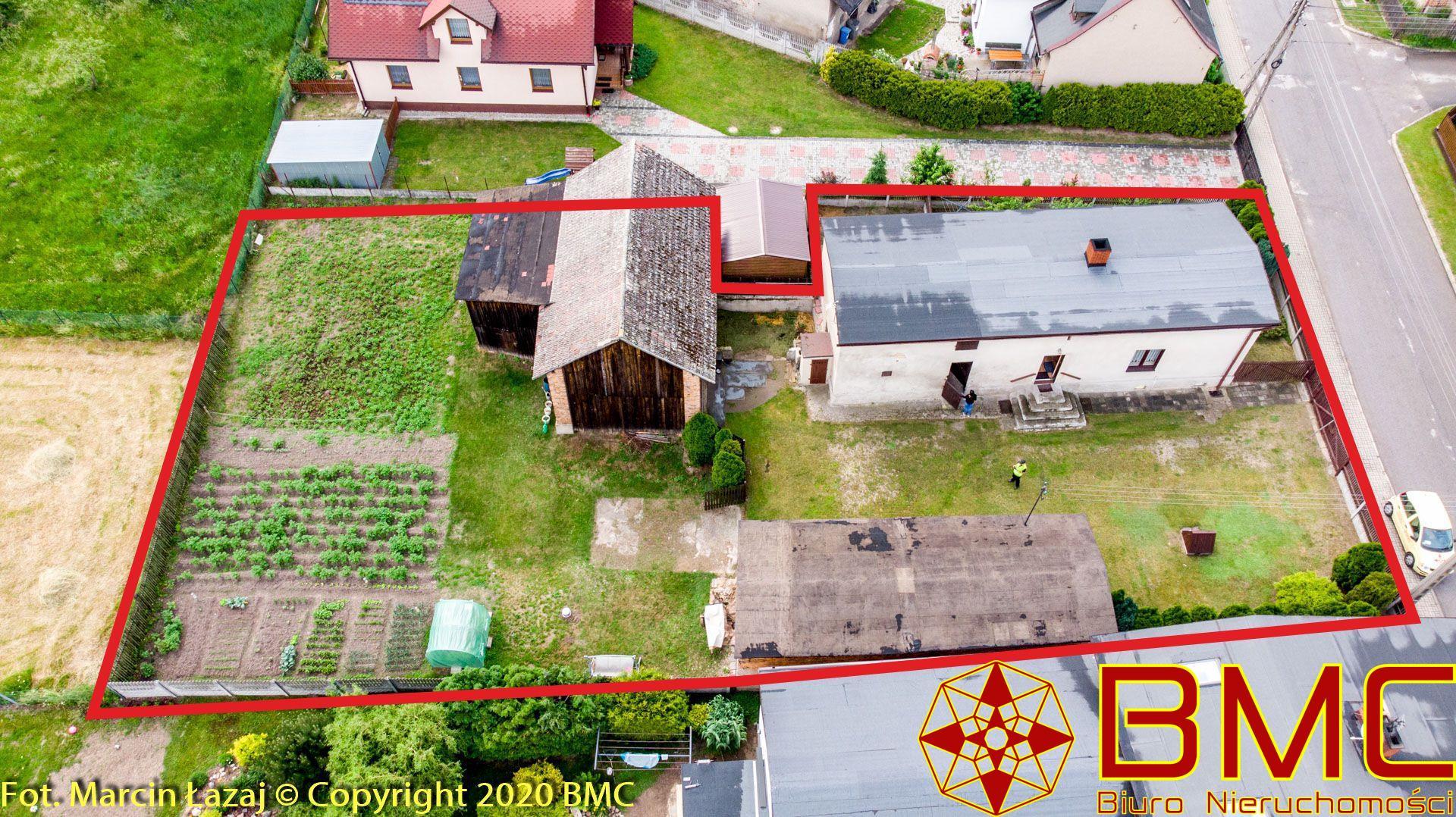 Nieruchomość Dom sprzedaż Cieszowa Dom z budynkami gospodarczymi- Cieszowa1