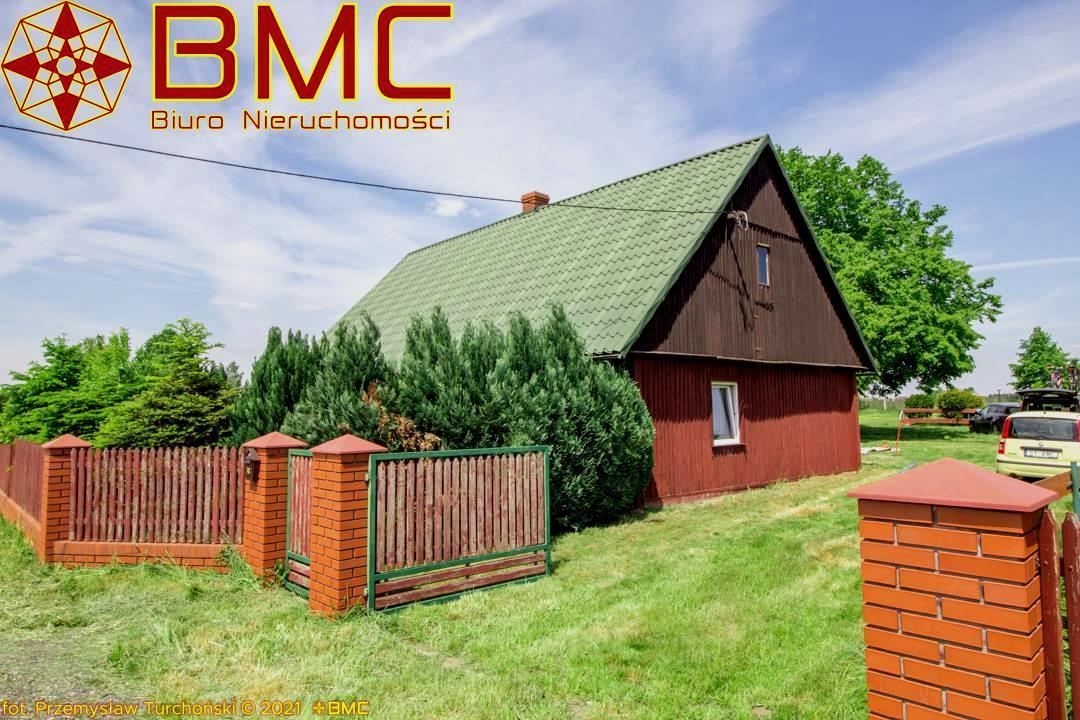 Nieruchomość Dom sprzedaż Dąbrowa Drewniany dom Dąbrowa, gm Przystajń1