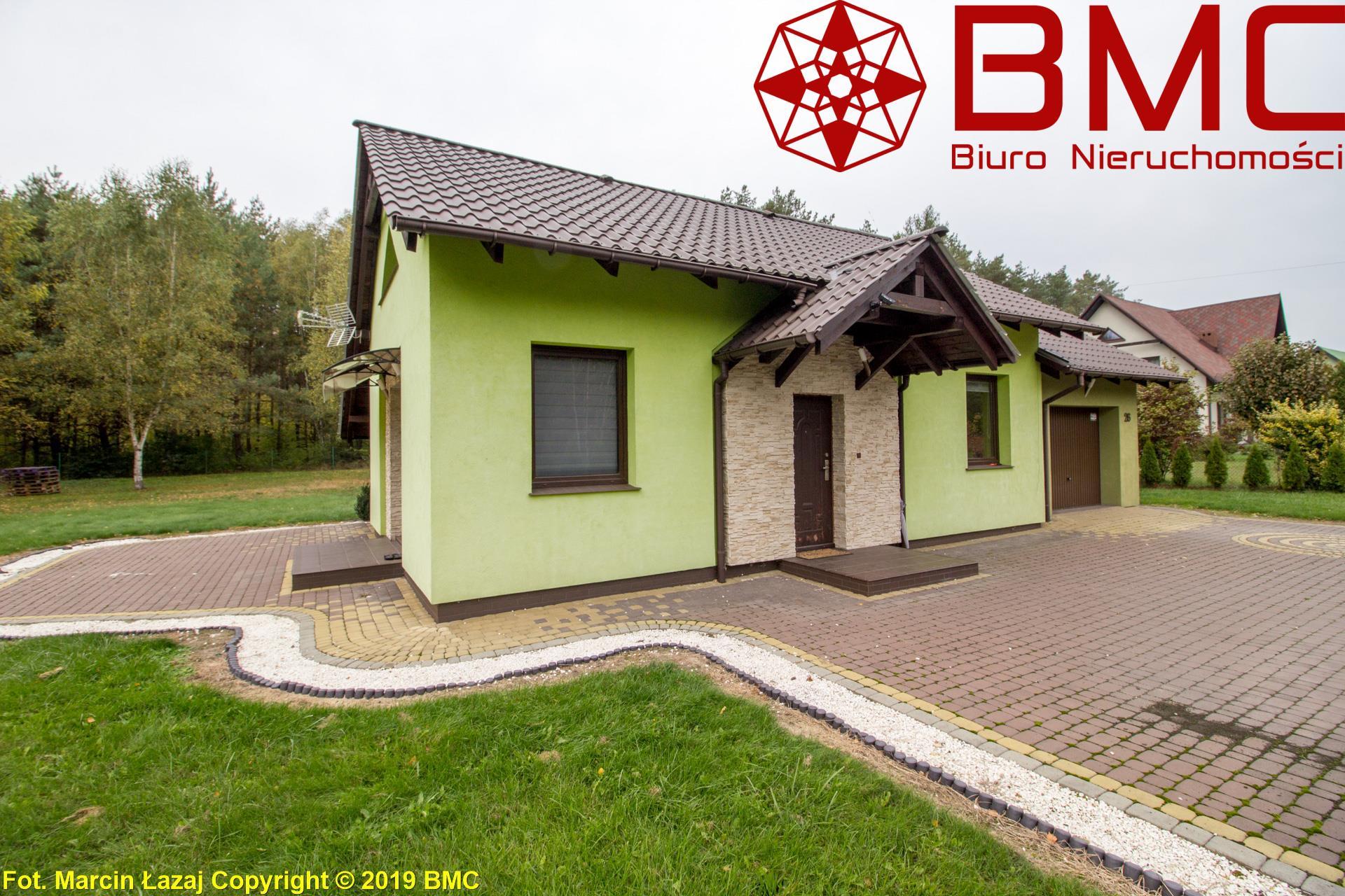 Nieruchomość Dom sprzedaż Strzebiń Parterowy dom przy lesie- Strzebiń1