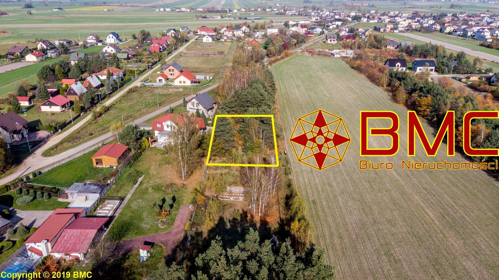Nieruchomość Działka sprzedaż Rusinowice Działka budowlana 1000m2 -blisko lasu Rusinowice1